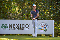 Kevin Na (USA) watches his tee shot on 5 during round 1 of the World Golf Championships, Mexico, Club De Golf Chapultepec, Mexico City, Mexico. 2/21/2019.<br /> Picture: Golffile | Ken Murray<br /> <br /> <br /> All photo usage must carry mandatory copyright credit (© Golffile | Ken Murray)