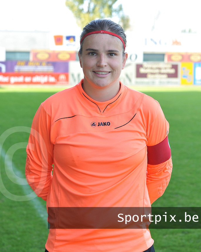 WD Lierse SK B : Natasha Ribbens.foto Joke Vuylsteke / Vrouwenteam.be