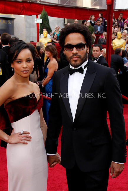 WWW.ACEPIXS.COM . . . . .  ....March 7 2010, Hollywood, CA....Musician Lenny Kravitz and daughter actress Zoe Kravitz at the 82nd Annual Academy Awards held at Kodak Theatre on March 7, 2010 in Hollywood, California.....Please byline: Z10-ACE PICTURES... . . . .  ....Ace Pictures, Inc:  ..Tel: (212) 243-8787..e-mail: info@acepixs.com..web: http://www.acepixs.com