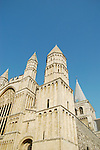 South West exterior of Rochester Cathedral