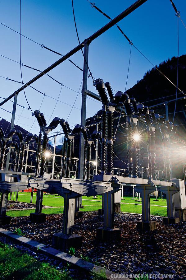 Ofima, Centrale Peccia, Centrale idroelettrica, Power Station, Elektrizitätswerk