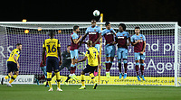 Oxford United's Rob Hall with a free-kick in the first half<br /> <br /> Photographer Rob Newell/CameraSport<br /> <br /> The Carabao Cup Third Round - Oxford United v West Ham United - Wednesday 25th September 2019 - Kassam Stadium - Oxford<br />  <br /> World Copyright © 2019 CameraSport. All rights reserved. 43 Linden Ave. Countesthorpe. Leicester. England. LE8 5PG - Tel: +44 (0) 116 277 4147 - admin@camerasport.com - www.camerasport.com