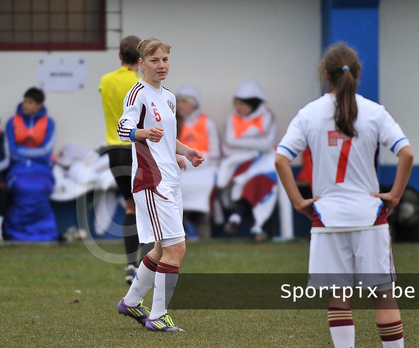 France U19 - Russia U19 : Marina Lychkovskaya.foto DAVID CATRY / Nikonpro.be