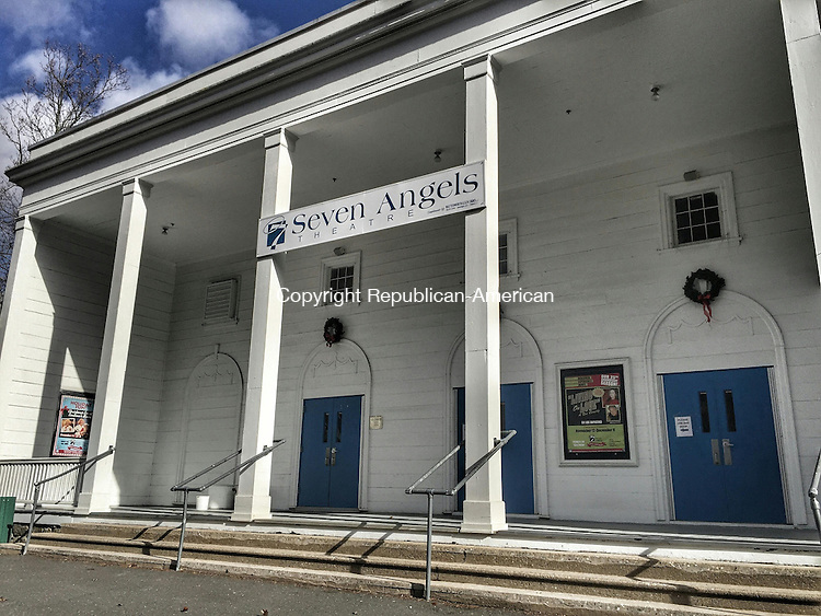 WATERBURY, CT - 03 December 2015 - 12032015PO01 - The Hamilton Park Pavilion, home to Seven Angels Theatre, is the next city-owned building in Waterbury in line for a taxpayer-funded makeover. Penelope Overton Republican-American