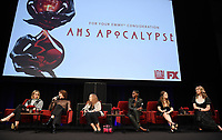 "LOS ANGELES- MAY 18: (L-R) Sarah Paulson, Cody Fern, Frances Conroy, Adina Porter, Billie Lourd, and Leslie Grossman attend 20th Century Fox Television and FX's ""American Horror Story: Apocalypse"" FYC red carpet event at Neuehouse on May 18, 2019 in Los Angeles, California. (Photo by Frank Micelotta/FX/PictureGroup)"