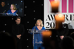 © Joel Goodman - 07973 332324 . 02/03/2017 . Manchester , UK . Lifetime achievement winner JOY KINGSLEY of JMW . The Manchester Legal Awards at the Midland Hotel . Photo credit : Joel Goodman