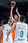 Valencia Basket Aaron Doornekamp during Turkish Airlines Euroleague match between Real Madrid and Valencia Basket at Wizink Center in Madrid, Spain. December 19, 2017. (ALTERPHOTOS/Borja B.Hojas)