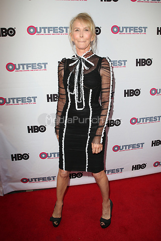"LOS ANGELES, CA- Trudie Styler, At 2017 Outfest Los Angeles LGBT Film Festival - Closing Night Gala Screening Of ""Freak Show"" at The Theatre at Ace Hotel, California on July 16, 2017. Credit: Faye Sadou/MediaPunch"