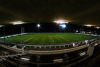 General view of Richmond Athletic Ground, home of London Scottish Football Club, ahead of the British & Irish Cup match between London Scottish Football Club and Munster 'A' at Richmond Athletic Ground, Richmond, United Kingdom on 13 November 2015. Photo by David Horn.