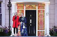 "Jenni Falconer and Edith Bowman<br /> arriving for the ""Mary Poppins Returns"" premiere at the Royal Albert Hall, London<br /> <br /> ©Ash Knotek  D3467  12/12/2018"