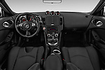 Stock photo of straight dashboard view of 2019 Nissan 370Z-Coupe 7A/T 0 Door Coupe Dashboard