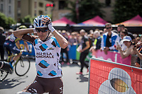 Domenico Pozzovivo (ITA/AG2R-La Mondiale) at the start<br /> <br /> Stage 17: Tirano &rsaquo; Canaze (219km)<br /> 100th Giro d'Italia 2017