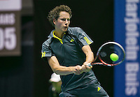 18-12-13,Netherlands, Rotterdam,  Topsportcentrum, Tennis Masters, , Jasper Smit     <br /> Photo: Henk Koster