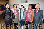 Mary Lucey, Catriona Locke, Freda Moriarty, Josie Brown and Cllr: Sam Locke attending the screening of Kilamanjaro Mama in Siamsa Tire on Thursday,