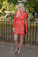 Lara Stone at The Serpentine Gallery Summer Party 2015 at The Serpentine Gallery, London.<br /> July 2, 2015  London, UK<br /> Picture: Dave Norton / Featureflash