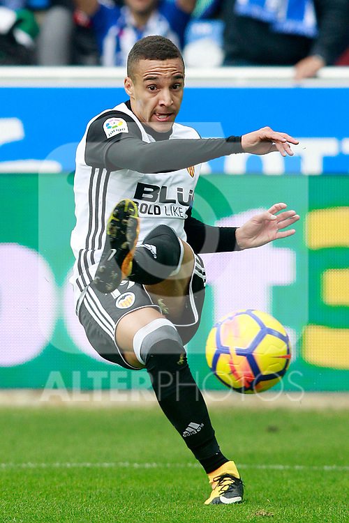 Valencia CF's Rodrigo Moreno during La Liga match. October 28,2017. (ALTERPHOTOS/Acero)
