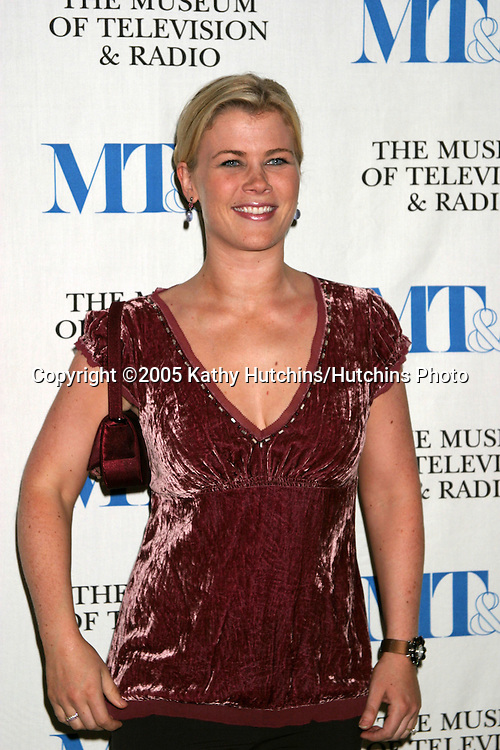 Alison Sweeney.40 Years of Days of our Lives.Museum of TV and Radio.Beverly Hills, CA.November 4, 2005.©2005 Kathy Hutchins / Hutchins Photo