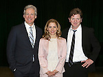 Duke Lafoon, Kerry Butler andTom Galantich during the 'Clinton The Musical' - Sneak Peek at Ripley Grier Studios on March 4, 2015 in New York City.