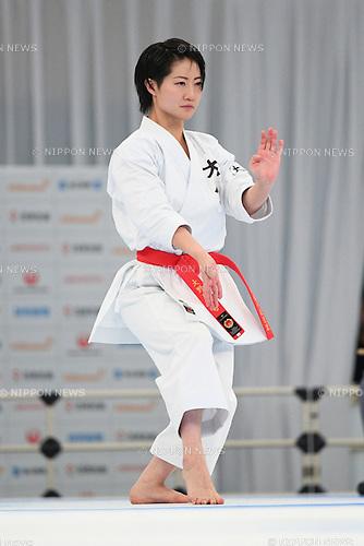 Hikaru Ono, <br /> DECEMBER 11, 2016 - Karate : <br /> The 44th Japan Cup Karatedo <br /> Women's Kata Semi Final <br /> at Nippon Budokan, Tokyo Japan. <br /> (Photo by AFLO SPORT)