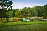 Hammonasset River from Bodinsons deck, Windermere, CT