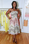 Lola Ogunnaike, Arise 360 contributor co-hosts the African Health Now - Fashion Fete event, at the Tracy Reese store on 641 Hudson Street, June 20, 2013.