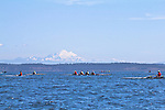 Port Townsend, Rat Island Regatta, rowers, Frank C, racing, Sound Rowers, Rat Island Rowing Club, Puget Sound, Olympic Peninsula, Washington State, water sports, rowing, kayaking, competition,