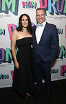 "Jennifer Diamond and Danny Vaccaro Attends the Broadway Opening Night of ""The Prom"" at The Longacre Theatre on November 15, 2018 in New York City."