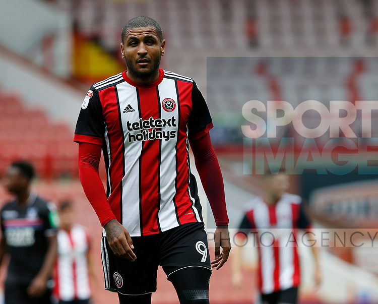 Leon Clarke of Sheffield Utd during the Professional Development U23 match at Bramall Lane, Sheffield. Picture date 4th September 2017. Picture credit should read: Simon Bellis/Sportimage