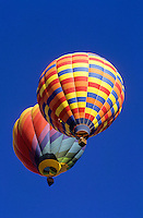 the Albuquerque balloon festival in New Mexico, USA