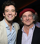 "Michael Urie and Mark Linn-Baker attends ""The Government Inspector"" Opening Night Party at West Bank Cafe on June 1, 2017 in New York City."