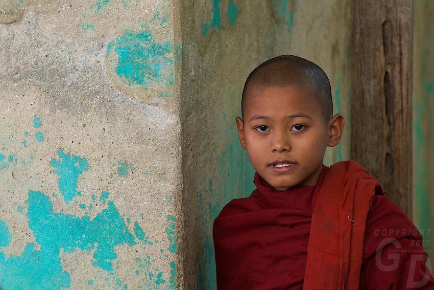Monastery near Bagan,Myanmar, Burma.