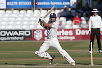 Alastair Cook hits out for Essex during Essex CCC vs Somerset CCC, Specsavers County Championship Division 1 Cricket at The Cloudfm County Ground on 25th June 2018