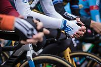 pre race Mathieu Van der Poel (NED/Corendon Circus). <br /> <br /> Koppenbergcross Belgium 2018