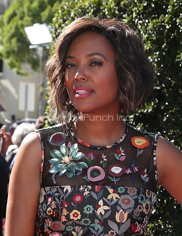 PASADENA, CA - April 30: Aisha Tyler, At 44th Annual Daytime Emmy Awards Roaming At The Pasadena Civic Auditorium In California on April 30, 2017. Credit: FS/MediaPunch