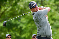 Charley Hoffman (USA) watches his tee shot on 11 during round 3 of the Shell Houston Open, Golf Club of Houston, Houston, Texas, USA. 4/1/2017.<br /> Picture: Golffile | Ken Murray<br /> <br /> <br /> All photo usage must carry mandatory copyright credit (&copy; Golffile | Ken Murray)