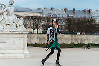 Laura Tonder at Paris Fashion Week (Photo by Hunter Abrams/Guest of a Guest)
