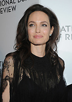 NEW YORK, NY - JANUARY 09: Angelina Jolie attends the 2018 National Board Of Review Awards Gala at Cipriani 42nd Street on January 9, 2018 in New York City.  <br /> CAP/MPI/JP<br /> &copy;JP/MPI/Capital Pictures