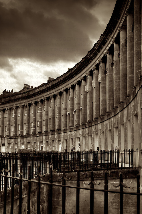 The Royal Cresecent in Bath, England