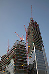 Broadgate tower, 201 Bishopsgate, under construction, April 2007, from Shoreditch High Street, London, England