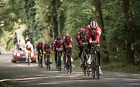 Team Lotto-Soudal during TTT recon/practice<br /> <br /> 12th Eneco Tour 2016 (UCI World Tour)<br /> stage 5 (TTT) Sittard-Sittard (20.9km) / The Netherlands