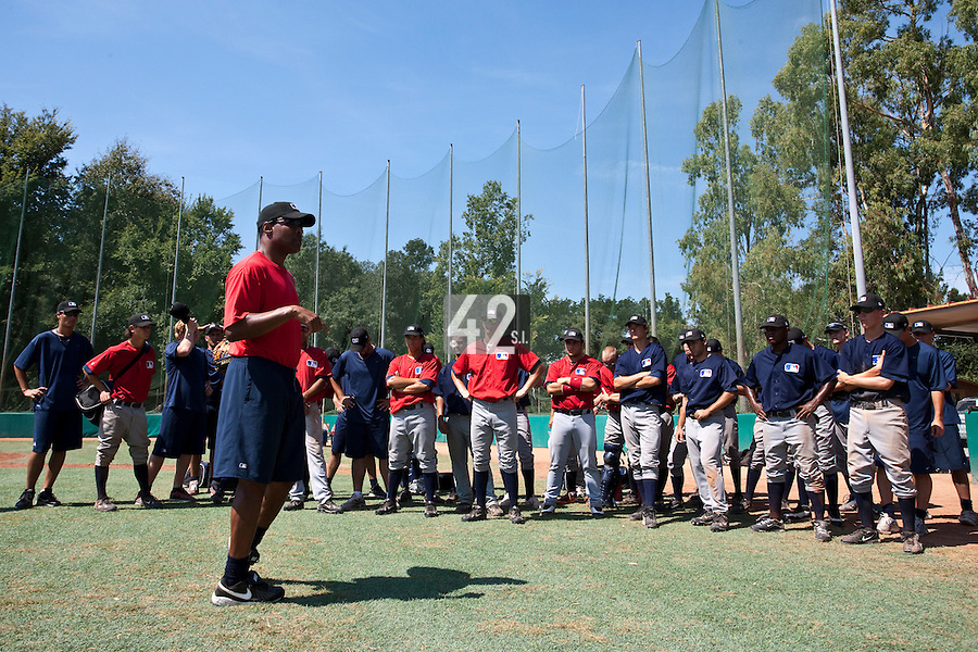 Baseball - MLB European Academy - Tirrenia (Italy) - 21/08/2009 - Barry Larkin