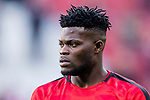 Thomas Teye Partey of Atletico de Madrid in training prior to the La Liga 2017-18 match between Atletico de Madrid and Athletic de Bilbao at Wanda Metropolitano  on February 18 2018 in Madrid, Spain. Photo by Diego Souto / Power Sport Images