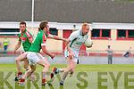 Seamus Scanlon St Kieran's and Kevin Gorman Kilcummin in action in Brosna on sunday