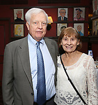 Dave Earl & Diane Earl attend the UMass Lowel Cockail Party for 'Sunset Boulevard' hosted by Chancellor Jacquie Moloney, Bonnie Comley and Stewart F. Lane at Sardi's on April 5, 2017 in New York City