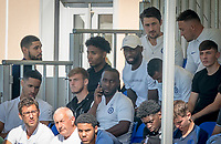 Ruben Loftus-Cheek & Antonio Rudigier during the UEFA Youth League match between Chelsea U19 and Valencia Juvenil A at the Chelsea Training Ground, Cobham, England on 17 September 2019. Photo by Andy Rowland.