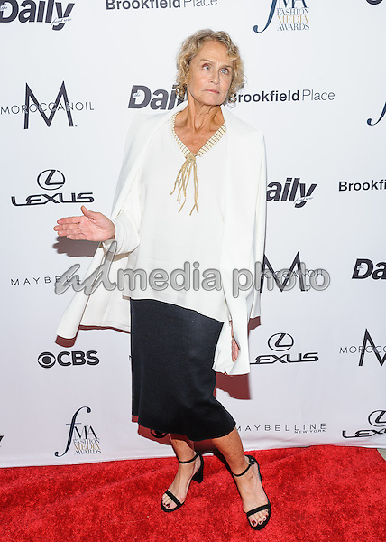 08 September 2016 - New York, New York- Lauren Hutton. Daily Front Row's Fourth Annual Fashion Media Awards. Photo Credit: Mario Santoro/AdMedia