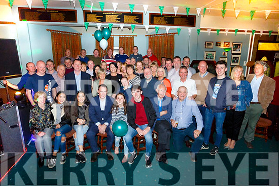 Tim Lynch, Oakpark celebrating his 50th Birthday with family and friends at Na Gaeil Club House on Saturday
