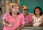 Edimilson Ferreira Nascimento, 37, leader of the God and Life Association, an organization of small farmers, speaks to a gathering near Anapu, in Brazil's northern Para State. The area has seen violent conflict between small farmers, who are backed by local church activists, and large ranchers and loggers.