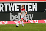 Duesseldorfs Jean Zimmer #39<br /><br />1. Fussball Bundesliga 33. Spieltag - Fortuna Duesseldorf vs. FC Augsburg 20.06.2020 - <br /><br />(Foto: Sebastian Sendlak / wave.inc/POOL/ via Meuter/Nordphoto)<br /><br />DFL regulations prohibit any use of photographs as image sequences and/or quasi-videos.<br /><br />EDITORIAL USE ONLY<br /><br />National and international News-Agencys OUT.