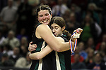 03/12/11-- Clackamas' Jesuit's in the 6A girls state basketball  championship at the Rose Garden in Portland, Or....Photo by Jaime Valdez......................................